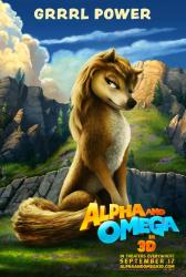 Alpha and Omega in 3D movie poster (2010) Grrrl Power advance