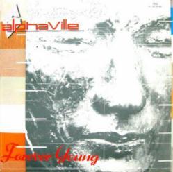 Alphaville poster: Forever Young vintage LP/Album flat