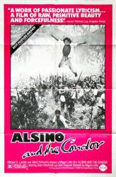 Alsino and the Condor movie poster (1982) 27x41 original