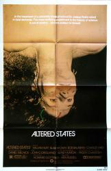 Altered States movie poster [William Hurt, Ken Russell] original 27x41