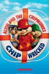 Alvin and the Chipmunks: Chipwrecked movie poster (2011 Advance)
