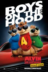 Alvin and the Chipmunks: The Road Chip movie poster (27x40 advance)