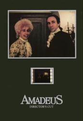 Amadeus 5'' X 7'' Senitype film cell [Tom Hulce & F. Murray Abraham]