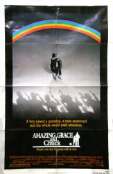 Amazing Grace and Chuck movie poster [Mike Newell film] original 27x41
