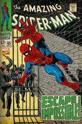 The Amazing Spider-Man poster: Issue 65 (24 X 36) Escape Impossible