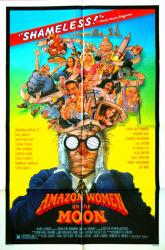Amazon Women On the Moon movie poster (1987) original
