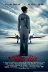 Amelia movie poster [Hilary Swank] 2009 (27x40)