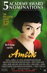 Amelie movie poster [Audrey Tautou] 26x40 video version