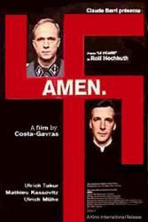 Amen. movie poster (2002) [a Costa-Gavras film] 27x40 original