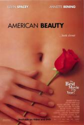American Beauty movie poster (1999) 27x40 video version