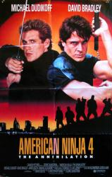 American Ninja 4: The Annihilation movie poster [Michael Dudikoff] 25x39