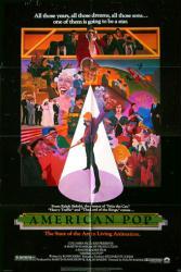 American Pop movie poster [a Ralph Bakshi film] original 27x41