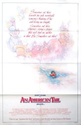 An American Tail movie poster (1986) original one-sheet