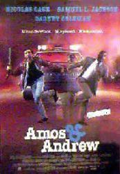 Amos & Andrew movie poster [Nicolas Cage, Samuel L. Jackson] 27x40
