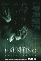 An American Haunting movie poster (2005) original 27x40