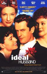 An Ideal Husband movie poster [Rupert Everett/Cate Blanchett] NM