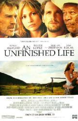 An Unfinished Life movie poster [Robert Redford & Jennifer Lopez]