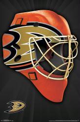 Anaheim Ducks poster: Mask (NHL) 22x34