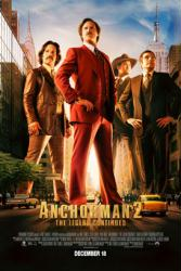 Anchorman 2: The Legend Continues movie poster [Will Ferrell] 27 X 40