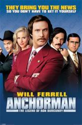 Anchorman The Legend of Ron Burgundy movie poster [Will Ferrell] 24x36
