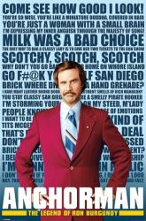 Anchorman movie poster (Quotes) [Will Ferrell] 24'' X 36''