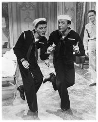 Frank Sinatra & Gene Kelly poster print (18x22) Anchors Aweigh