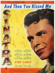And Then You Kissed Me vintage sheet music [Frank Sinatra] 1944