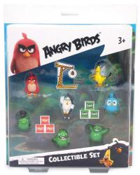 Angry Birds Collectible 7-figure set (Commonwealth) Red, Chuck, etc.