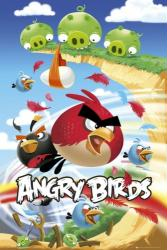 Angry Birds poster: Attack (24'' X 36'') New