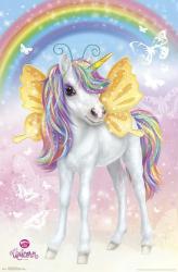 Animal Club poster: Unicorn and Rainbow (22x34)