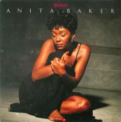 Anita Baker poster: Rapture vintage LP/Album flat (1986)