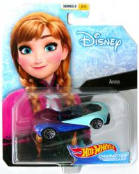 Hot Wheels Character Cars: Disney Anna (Frozen) die-cast vehicle