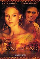 Anna and the King movie poster [Jodie Foster, Chow Yun-Fat] 27x40 VG