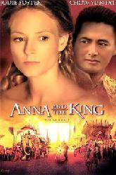 Anna and the King movie poster [Jodie Foster, Chow Yun-Fat] NM video