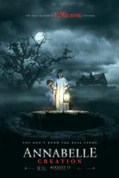 Annabelle: Creation movie poster (2017) 27x40 original advance