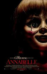 Annabelle movie poster (2014 horror film) original 27x40 one-sheet
