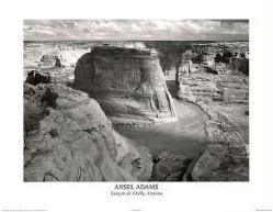 Ansel Adams poster: Canyon de Chelly, Arizona (28'' X 22'')