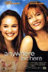 Anywhere But Here movie poster [Susan Sarandon/Natalie Portman] 26x40