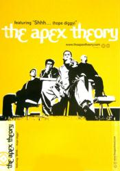 The Apex Theory poster: The Apex Theory vintage EP/Album flat