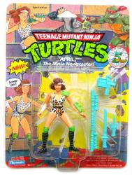 Teenage Mutant Ninja Turtles April Ninja Newscaster figure (Playmates)