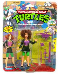 Teenage Mutant Ninja Turtles April Ravishing Reporter figure (1992) VG