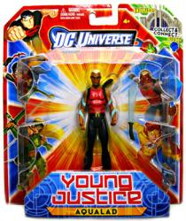 DC Universe Young Justice: Aqualad action figure (Mattel/2011) in red