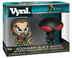 Aquaman: Aquaman + Black Manta Vynl figures set (Funko)