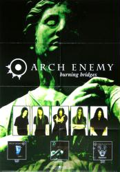 "Arch Enemy poster: Burning Bridges (23 1/2"" X 33"" promo poster)"