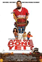 Are We Done Yet? movie poster [Ice Cube, Nia Long] 27x40