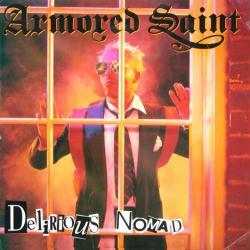 Armored Saint poster: Delirious Nomad vintage LP/Album flat