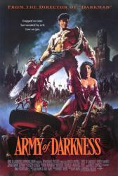 Army of Darkness movie poster [Bruce Campbell] Sam Raimi (27 X 40)
