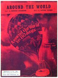 Around the World sheet music [Around the World In 80 Days] 1956