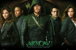 Arrow poster: The Television Series cast (36x24) CW