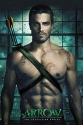 Arrow poster: Television Series [Stephen Arnell as Green Arrow] 24x36